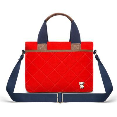 Imagem 4 do produto Mala Maternidade para bebe + Bolsa de Viagem + Frasqueira Térmica Heloisa em sarja Casual Cenoura - Classic for Baby Bags