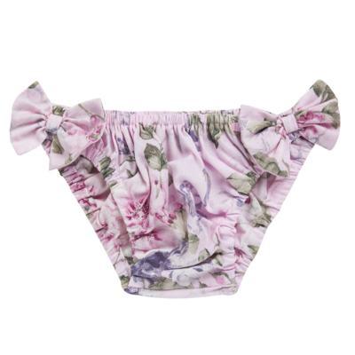 Imagem 2 do produto Conjunto de banho Floral: Bumbum + Chápeu - Roana - BAS00898046 BANHO DE SOL ROSA-G
