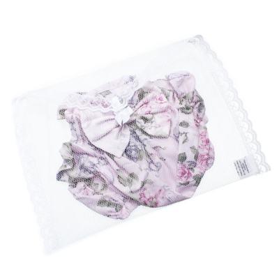 Imagem 4 do produto Conjunto de banho Floral: Bumbum + Chápeu - Roana - BAS00898046 BANHO DE SOL ROSA-G