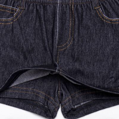 Imagem 3 do produto Shorts Saia em fleece Jeanswear - Bibe - 10P12-208 SH FEM LOEIL GDE-2