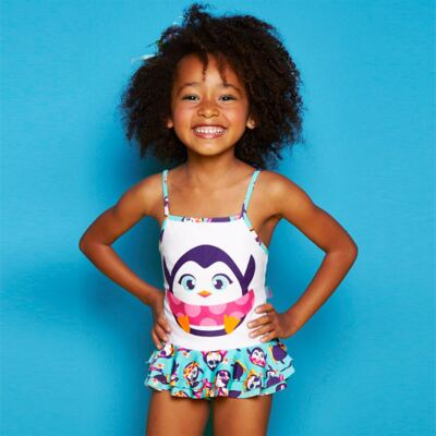 Imagem 7 do produto Conjunto de banho Pinguim: Camiseta + Maiô - Puket - KIT PK PINGUIM Camiseta + Maio Pinguim Puket-4