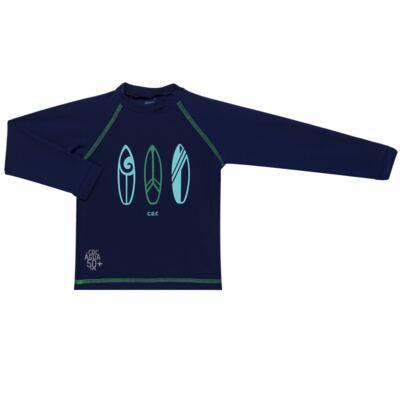 Imagem 2 do produto Conjunto de Banho Malibu: Camiseta surfista + Sunga - Cara de Criança - KIT 1 2573: SB2573+CSAL2573 SUNGA E CAMISETA PRANCHAS DE SURF-1