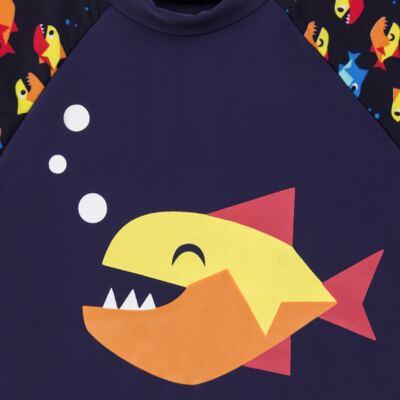Imagem 3 do produto Conjunto de banho Piranha: Camiseta + Sunga - Puket - KIT PK PIRANHA Camiseta + Sunga Piranha Puket-4