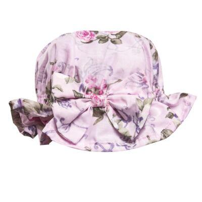 Imagem 3 do produto Conjunto de banho Floral: Bumbum + Chápeu - Roana - BAS00898046 BANHO DE SOL ROSA-M