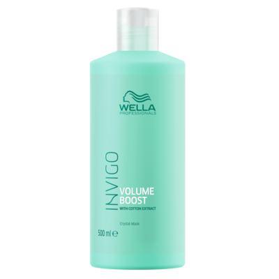 Wella Professionals Volume Boost Crystal Mask - Máscara Capilar - 500ml