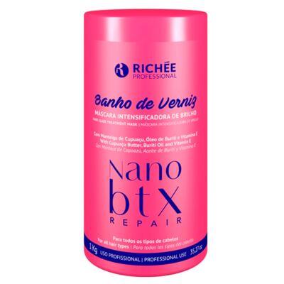 Imagem 1 do produto Richée Professional Banho de Verniz Nano Btx - Máscara Capilar - 1kg