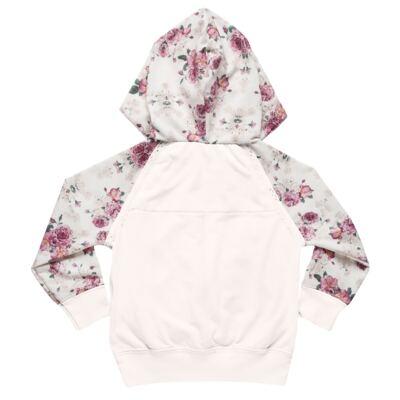Imagem 3 do produto Blusão com Capuz e calça para bebe em molecotton Camelli - Charpey - CY14804.3500 CONJ BLUSAO C/ CAPUZ E CALÇA FADA-GG