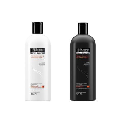 Imagem 1 do produto Condicionador Tresemmé Perfeitamente (Des)arrumado 400ml + Shampoo Perfeitamente (Des)arrumado 400ml