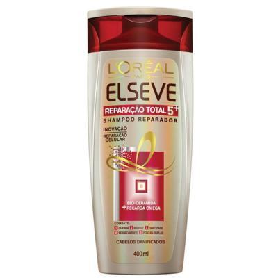 Imagem 2 do produto Kit Elseve Reparação Total 5 Shampoo 400ml + Condicionador 400ml