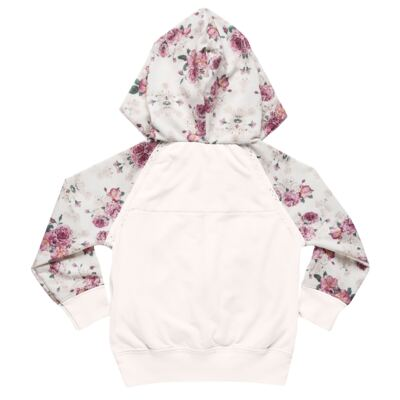 Imagem 3 do produto Blusão com Capuz e calça para bebe em molecotton Camelli - Charpey - CY14804.3500 CONJ BLUSAO C/ CAPUZ E CALÇA FADA-G