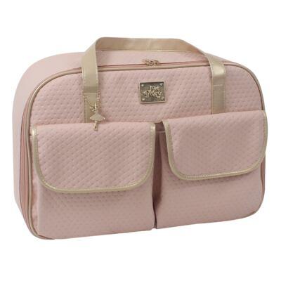 Imagem 1 do produto Mala maternidade para bebe Nice Rosê - Just Baby - JBNIC01-1 MALA NICE ROSE