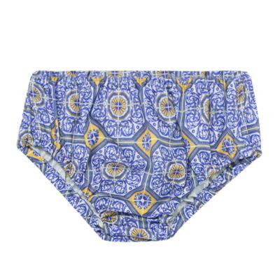 Imagem 3 do produto Vestido c/ calcinha para bebe Azulê - Roana - 24042059022 VESTIDO C/CALCINHA AZUL-G