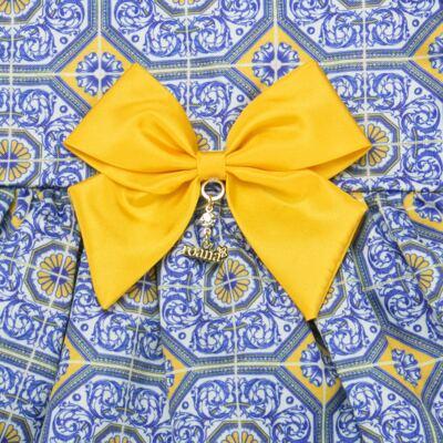 Imagem 4 do produto Vestido c/ calcinha para bebe Azulê - Roana - 24042059022 VESTIDO C/CALCINHA AZUL-G