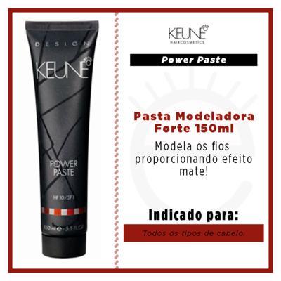 Imagem 2 do produto Keune Power Paste - Pomada Modeladora - 150ml