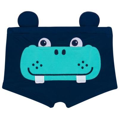 Imagem 1 do produto Sunga Boxer em lycra Hipopótamo - Cara de Criança - SB1926 HIPOPOTAMO SB SUNGA BOXER LYCRA-1