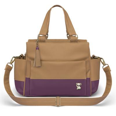 Imagem 4 do produto Mala Maternidade para bebe + Bolsa Genebra + Frasqueira Térmica Zurique Due Colore Uva - Classic for Baby Bags