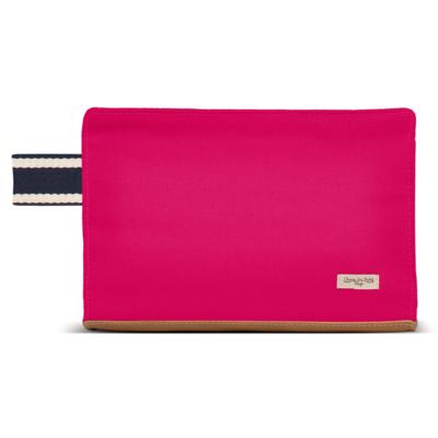 Imagem 4 do produto Bolsa Albany + Frasqueira Térmica Gold Coast + Necessaire Farmacinha em sarja Adventure Pink - Classic for Baby Bags
