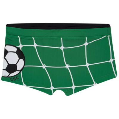 Imagem 4 do produto Conjunto de Banho Football: Camiseta surfista + Sunga - Cara de Criança - KIT 1 2529: SB2529+CSA2529 SUNGA E CAMISETA FUTEBOL-3