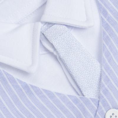 Imagem 3 do produto Jogo Maternidade com Macacão e Manta em algodão egípcio Harold - Bibe - 39Z39-01 CJ MATERNIDADE MASC-RN