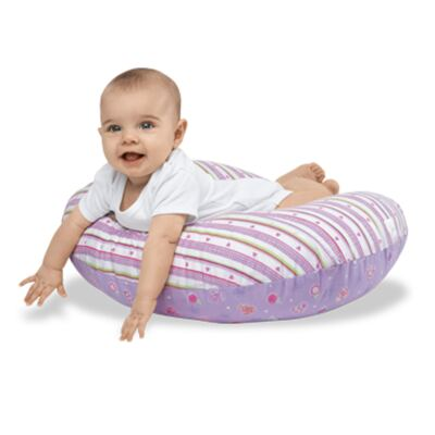Imagem 7 do produto Almofada Boppy c/ Capa Classic Plus Polka Stripe Pink   - Chicco