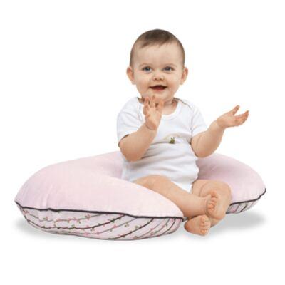 Imagem 8 do produto Almofada Boppy c/ Capa Classic Plus Polka Stripe Pink   - Chicco