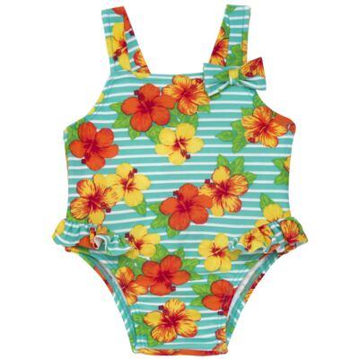 Imagem 1 do produto Maiô em lycra Tropical - Tilly Baby - TB166805 MAIO FLORAL-GG