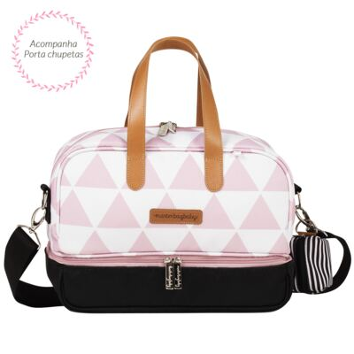 Imagem 3 do produto Bolsa Everyday  + Frasqueira térmica Vicky + Necessaire Manhattan Rosa - Masterbag