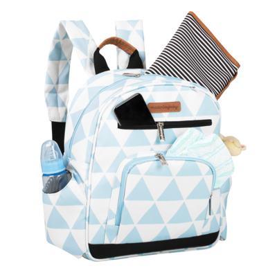 Imagem 6 do produto Mala maternidade Vintage + Bolsa Everyday + Frasqueira térmica Emy + Mochila Noah + Necessaire Manhattan Azul - Masterbag