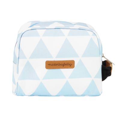 Imagem 8 do produto Mala maternidade Vintage + Bolsa Everyday + Frasqueira térmica Emy + Mochila Noah + Necessaire Manhattan Azul - Masterbag