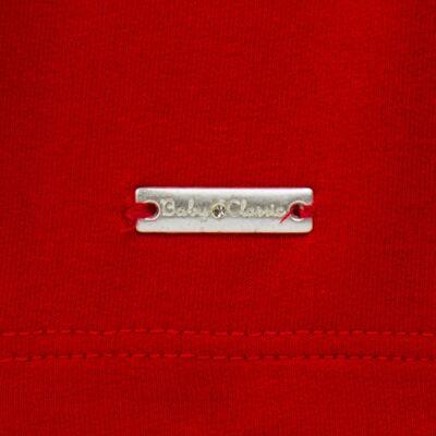 Imagem 5 do produto Bata com Legging para bebe em cotton Ribbon Roses - Baby Classic - 18210002.21 BLUSA C/ LEGGING  MALHA/ COTTON LACO-3