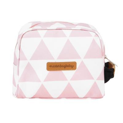 Imagem 7 do produto Mala maternidade com Rodízio + Bolsa Everyday + Frasqueira Organizadora + Necessaire Manhattan Rosa - Masterbag