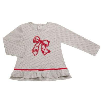 Imagem 2 do produto Bata com Legging para bebe em cotton Ribbon Roses - Baby Classic - 18210002.21 BLUSA C/ LEGGING  MALHA/ COTTON LACO-2