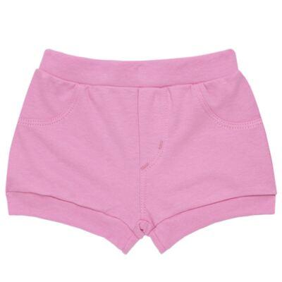 Imagem 5 do produto Body curto com Shorts para bebe em algodão egípcio c/ jato de cerâmica e filtro solar fps 50 L'Hortensia - Mini & Kids - BBI1746 CONJ. BODY M/C C/ SHORTS SUEDINE HORTÊNCIAS-GG