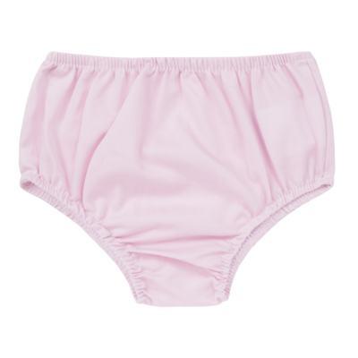 Imagem 4 do produto Vestido c/ Calcinha para bebe em tricoline Flourish - Mini Sailor - 14394440 VESTIDO RECORTE LACO TRICOLINE FLORAL ROSA-3-6