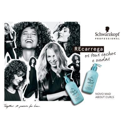 Imagem 4 do produto Schwarzkopf Mad About Curls -  Leite de Controle com Óleos - 200ml