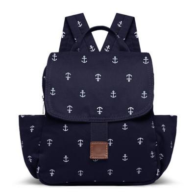 Imagem 1 do produto Mochila maternidade Classic em sarja Navy Marinho - Classic for Baby Bags - MCN9043 MOCHILA VIAGEM NAVY MARINHO