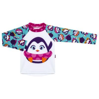 Imagem 1 do produto Camiseta infantil em lycra Pinguim - Puket