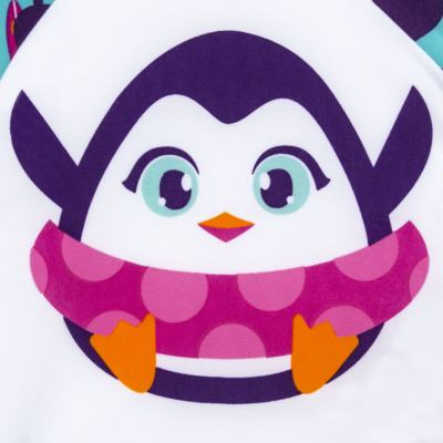 Imagem 2 do produto Camiseta infantil em lycra Pinguim - Puket