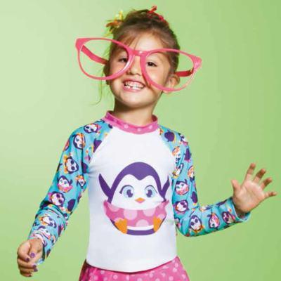 Imagem 3 do produto Camiseta infantil em lycra Pinguim - Puket