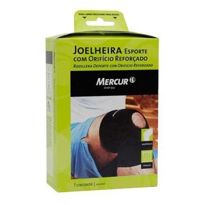 Imagem 3 do produto Joelheira Esporte Com Orificio Reforçado Bc0037 Mercur - P