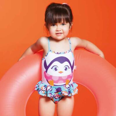 Imagem 4 do produto Maiô para bebe em lycra Pinguim - Puket