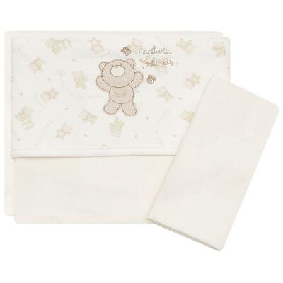 Imagem 1 do produto Jogo de lençol para carrinho em malha Nature Cute Bear - Classic for Baby - JLCM547 JOGO DE LENCOL MALHA NATURE
