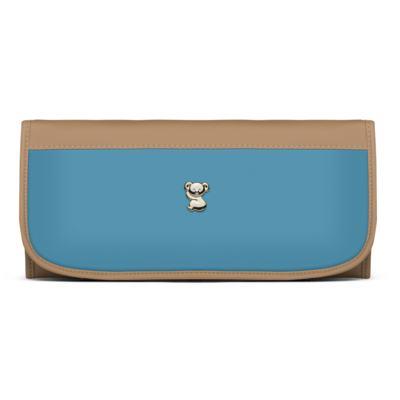 Imagem 4 do produto Bolsa maternidade para bebe Genebra + Frasqueira Térmica Zurique + Trocador Portátil Due Colore Turquesa - Classic for Baby Bags