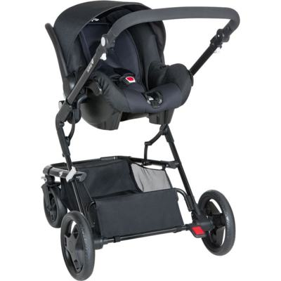 Imagem 2 do produto Travel System Kokoon: Carrinho Kokoon e Bebê Conforto One Safe XM Full Black  - Safety 1st