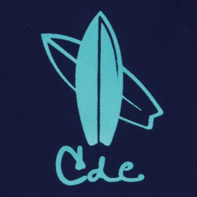 Imagem 2 do produto Camiseta Surfista em lycra FPS 50 Marinho - Cara de Criança - CSAL2576 PRANCHA BLUE CSAL CAMISETA SURF AGUA LONGO LYCRA-3
