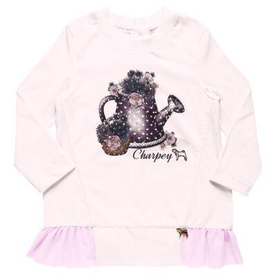 Imagem 2 do produto Blusa com Legging para bebe em molecotton Lippia - Charpey - CY14722.3500 CONJ BATA C/ LEGGING FADA-M