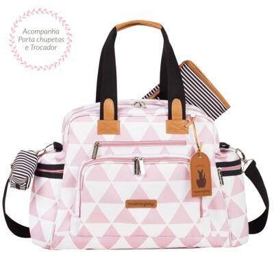 Imagem 2 do produto Bolsa Everyday  + Frasqueira térmica Emy + Necessaire Manhattan Rosa - Masterbag