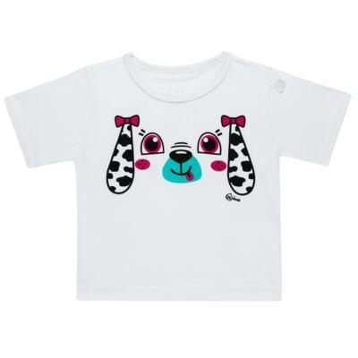 Imagem 4 do produto Conjunto de Banho para bebe Dalmatians: Camiseta + Maiô + Chapéu - Cara de Criança - KIT 1 2536: MB2536+CH2536+CCAB2536 MAIO E CHAPEU E CAMISETA DALMATA-G