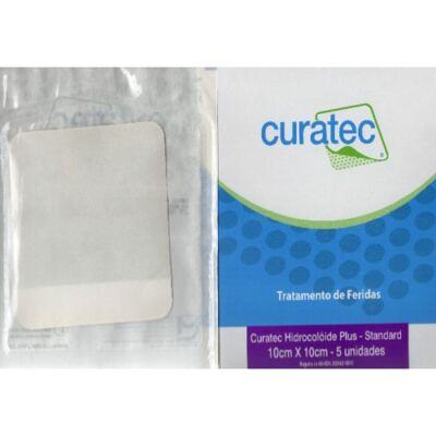 Imagem 1 do produto Curativo Hidrocolóide Plus Curatec - 10 X 10 Cm