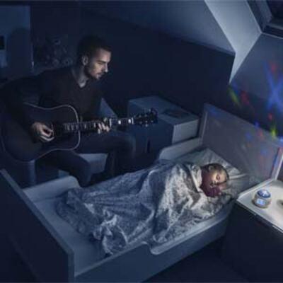 Imagem 3 do produto Projetor de Luz Star Azul Multikids Baby - BB163